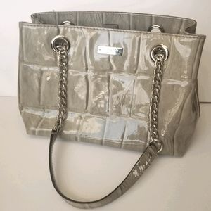 Kate Spade Shoulder Bag Croc Patent Leather